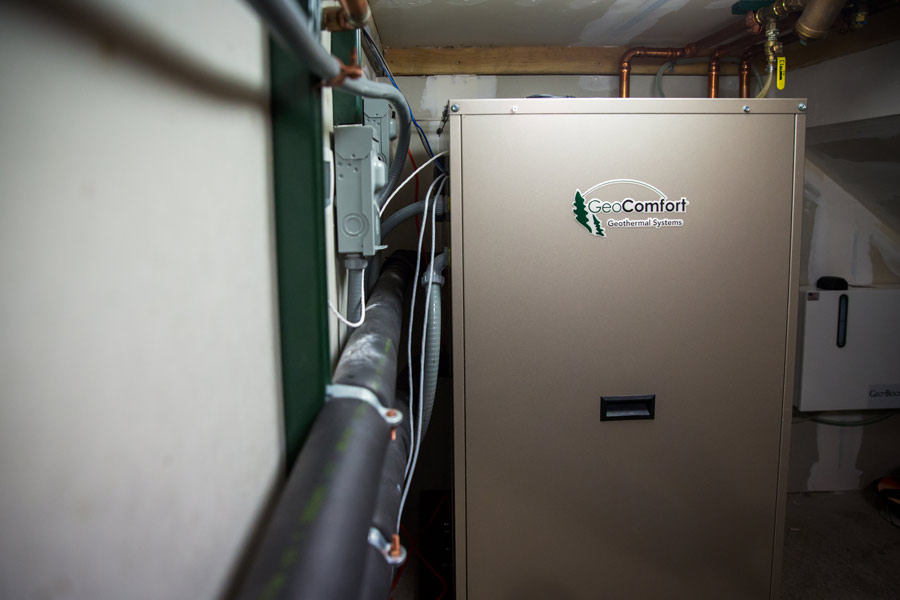 Salt Lake City Home Geothermal System